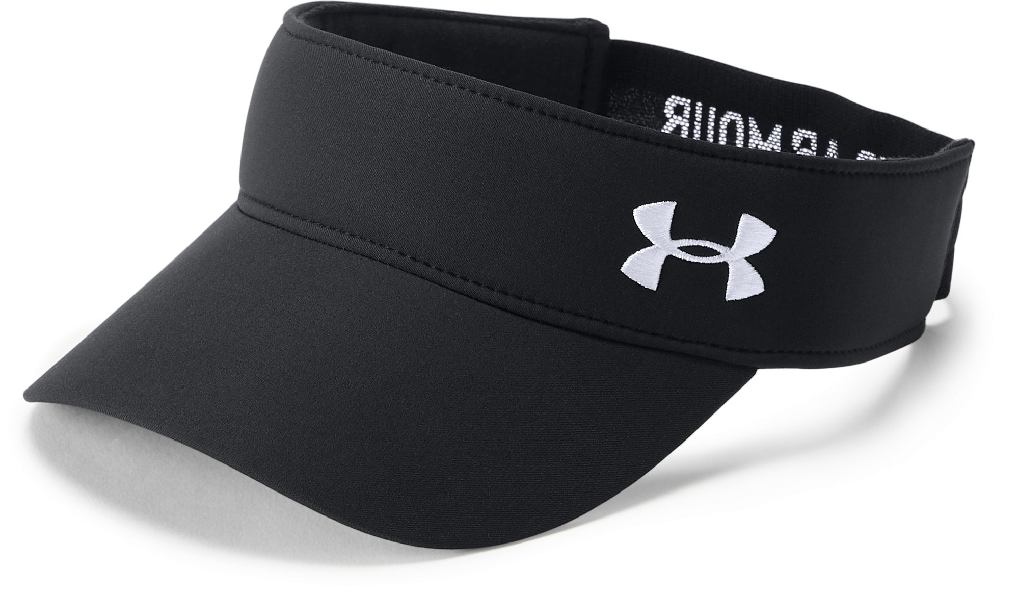 Women's UA Links 2.0 Visor, Black ,
