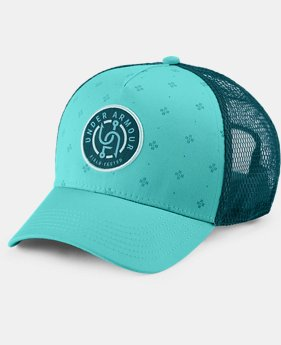 Women's UA Fish Graphic Snapback Cap  1  Color Available $24