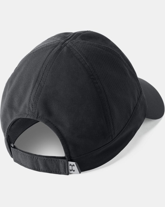 Women's UA Fly-By Cap, Black, pdpMainDesktop image number 1