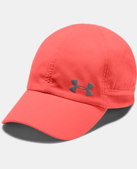 Women's UA Fly-By Cap  2  Colors Available $25