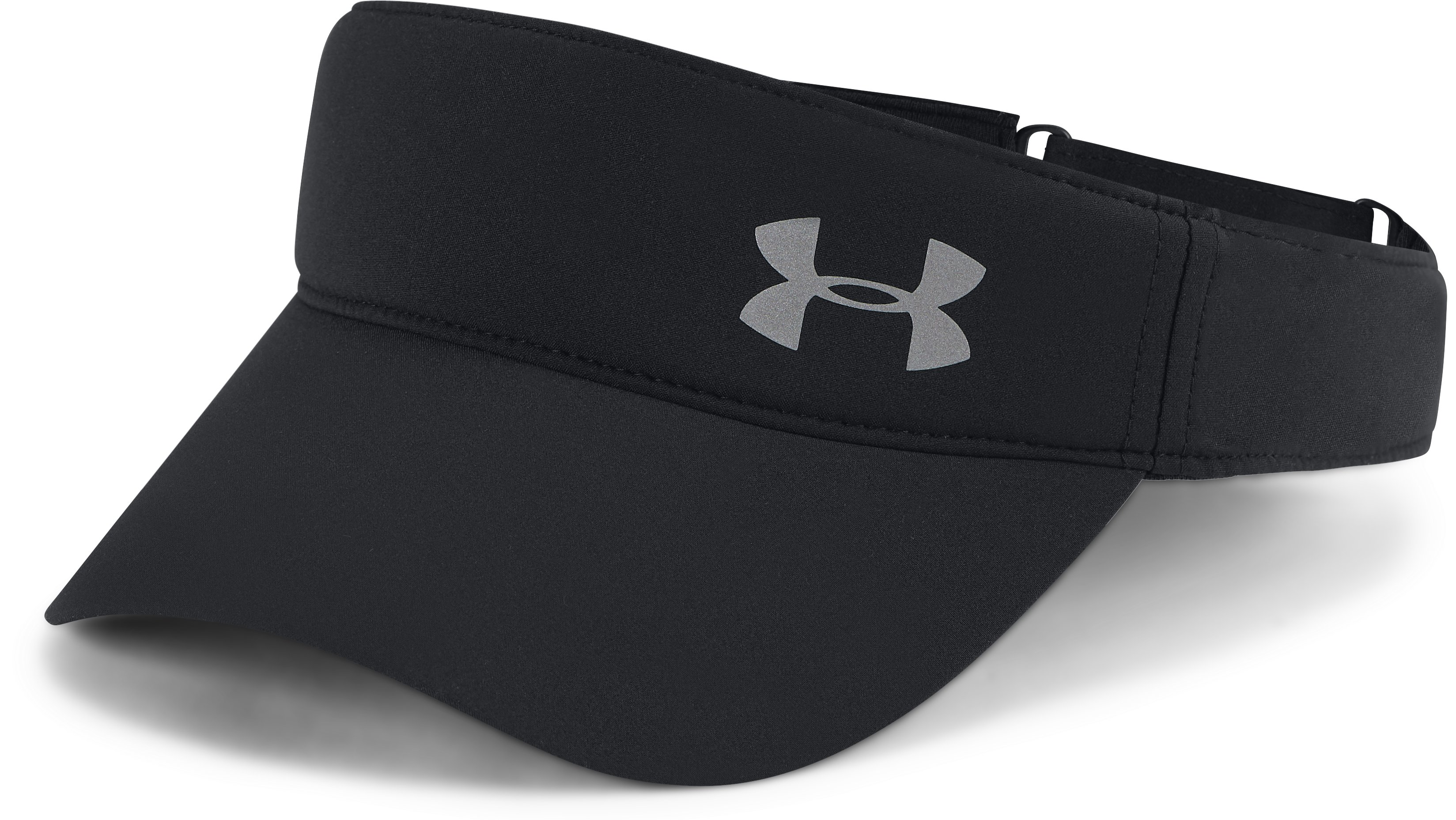 Women's UA Fly-By Visor, Black ,