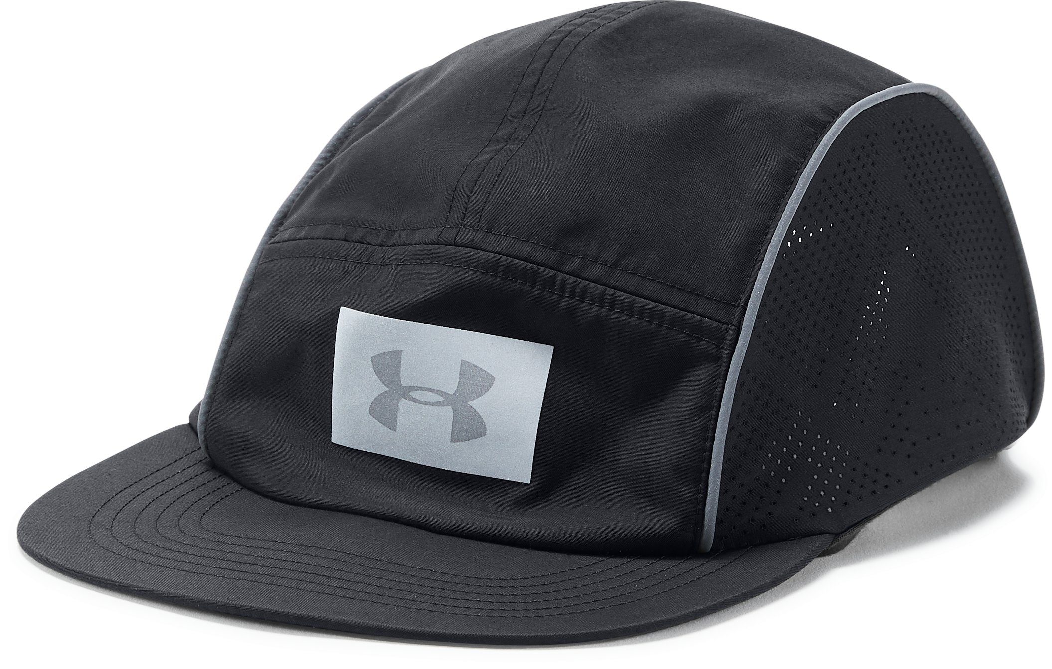 Women's UA Packable Graphic Cap, Black ,