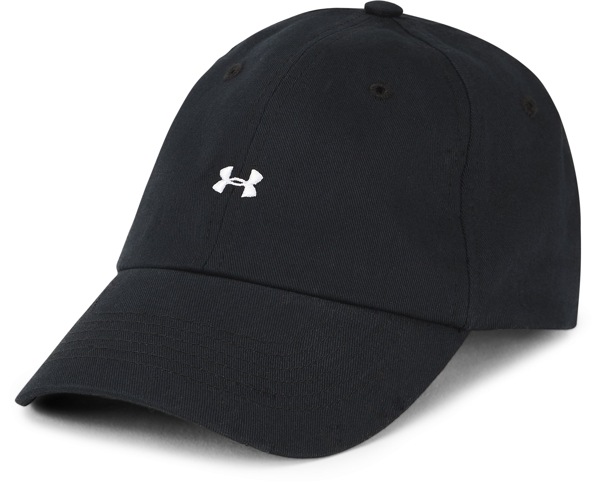 Women's UA Favorite Logo Cap, Black ,