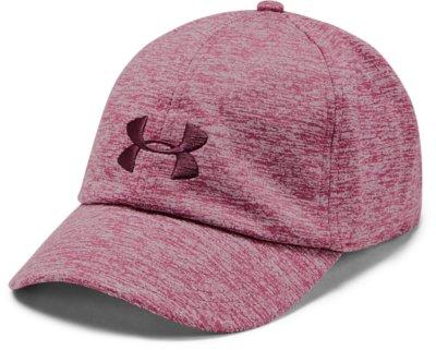 Under Armour Women/'s Renegade Hat OSFA Pink Adjustable Microthread Twist Cap New