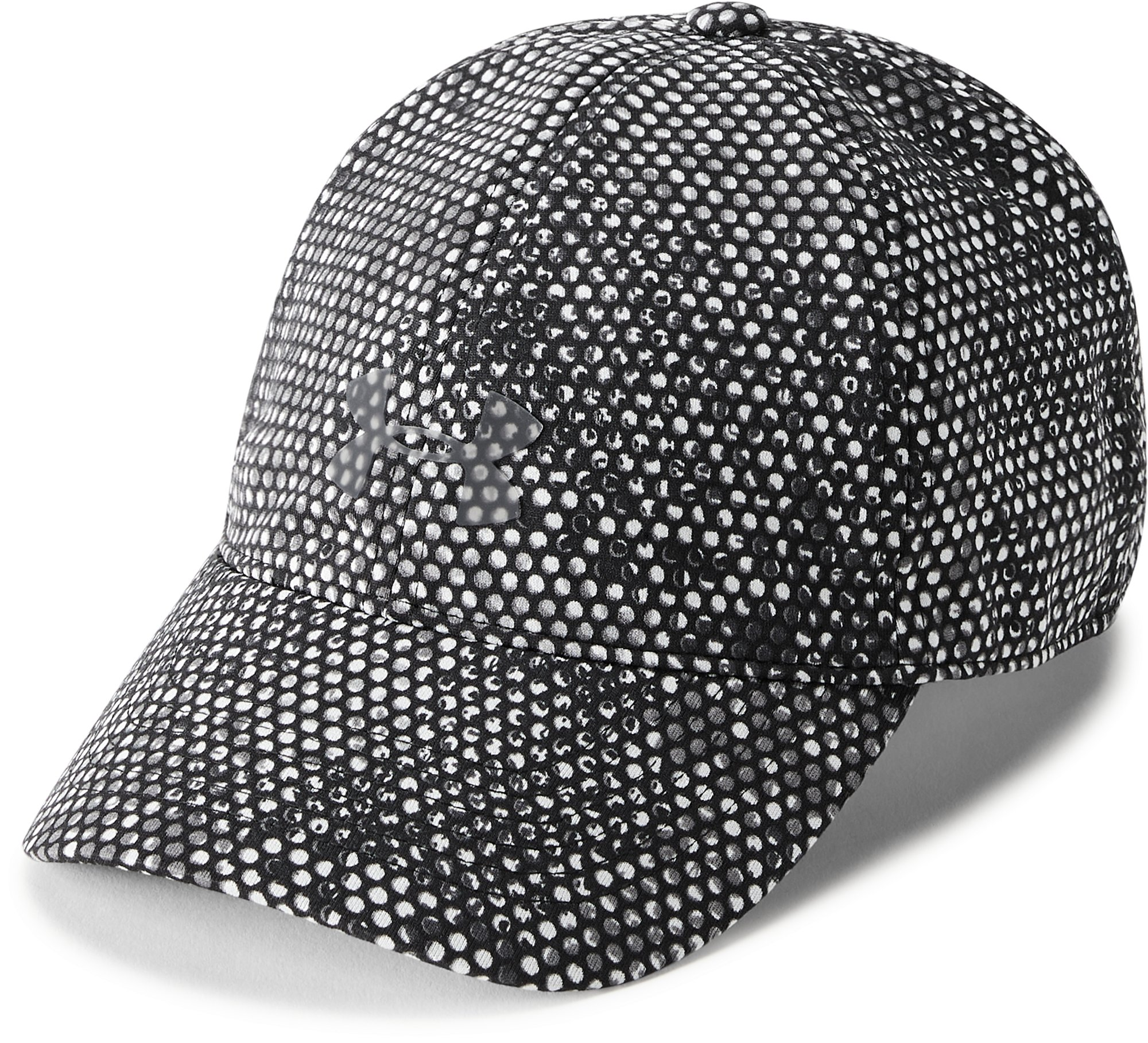 Women's UA Microthread Renegade Printed Cap, Black