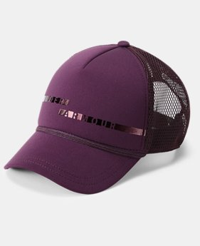 Women's UA Graphic Trucker Cap  1  Color Available $28