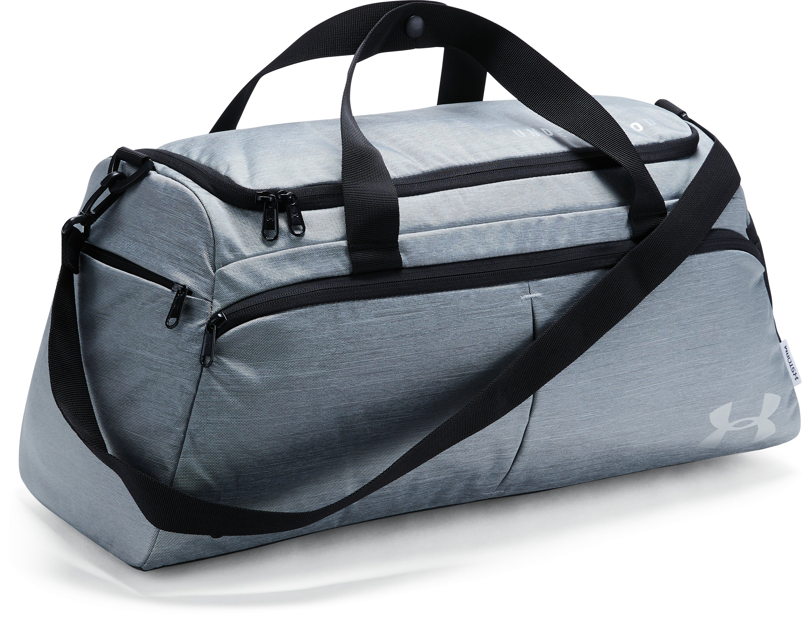 Women's UA Undeniable Duffle- Small, BLACK FULL HEATHER, undefined