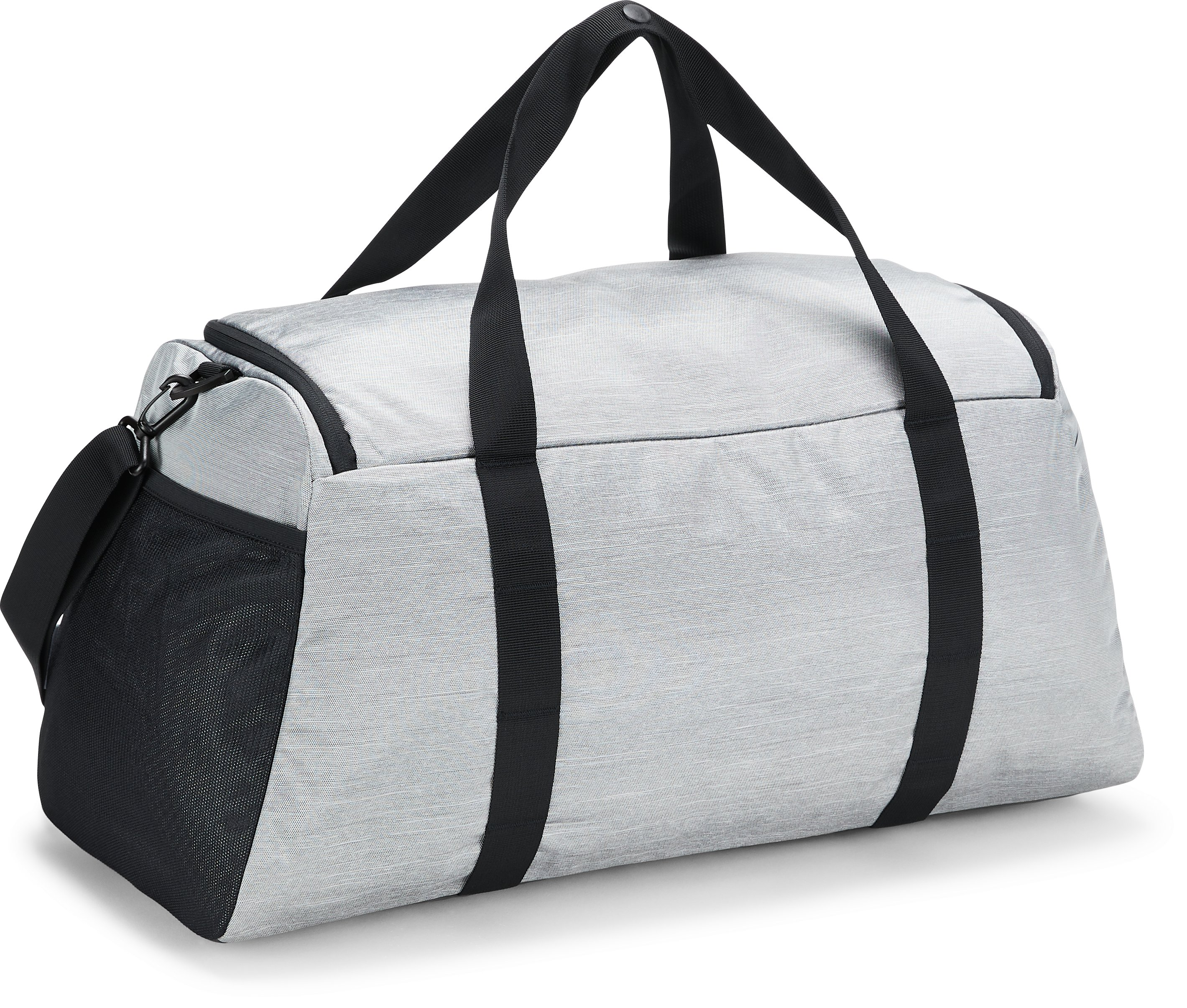 Women's UA Undeniable Duffle- Medium, BLACK FULL HEATHER,