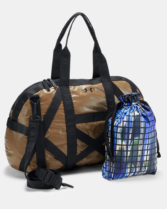 Women's UA Beltway Gym Bag, Gold, pdpMainDesktop image number 3