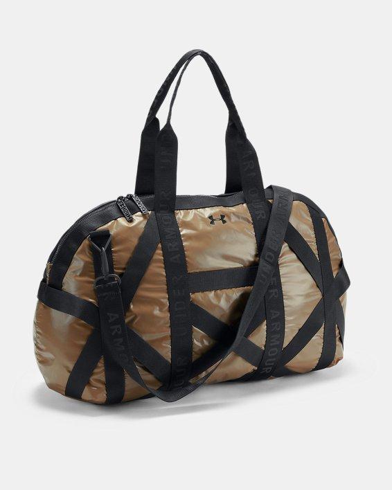 Women's UA Beltway Gym Bag, Gold, pdpMainDesktop image number 1