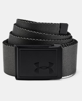 Men's UA Webbing Patterned Belt  1  Color Available $25