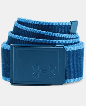 Men's UA Webbing Patterned Belt   $30