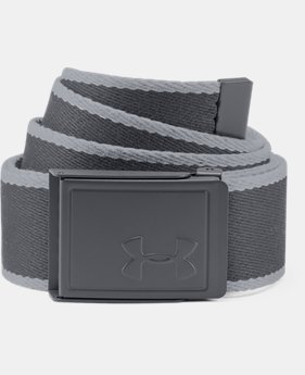 Men's UA Webbing Patterned Belt  4  Colors Available $25