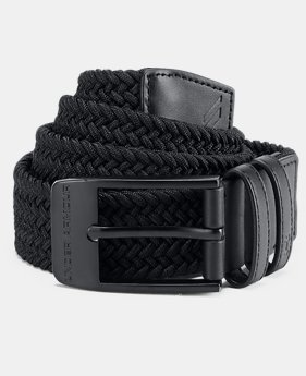 Best Seller Men's UA Braided Belt 2.0  1  Color Available $40