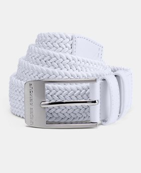 Men's UA Braided Belt 2.0  3 Colors $40