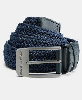 Men's UA Braided Belt 2.0  2  Colors Available $45