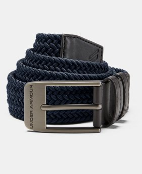 9f7b3dc074fdf7 Men's UA Braided Belt 2.0 4 Colors Available $45
