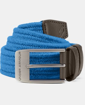 New Arrival  Men's UA Braided Belt 2.0  2 Colors $45