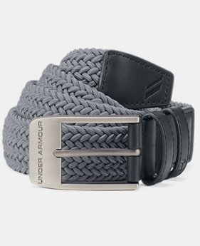 Men's UA Braided Belt 2.0  1  Color Available $33.75