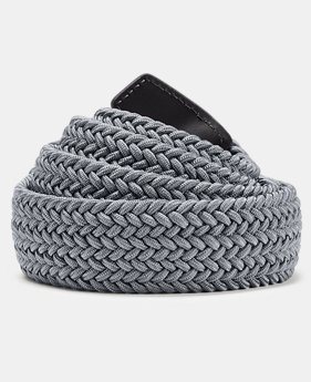 Best Seller Men's UA Braided Belt 2.0  9  Colors Available $40