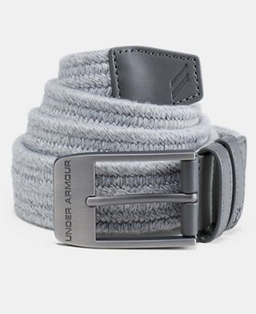 Best Seller Men's UA Braided Belt 2.0  4  Colors Available $40