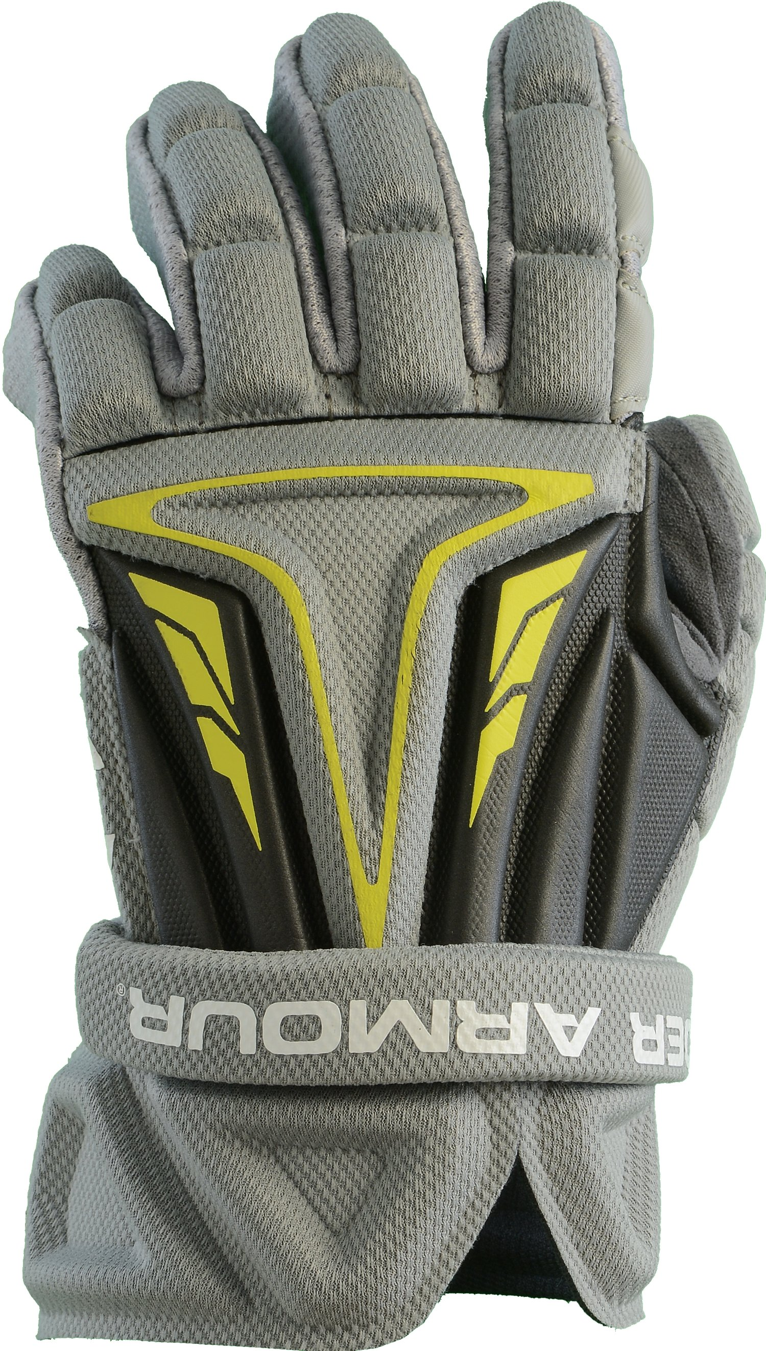 Boys' UA NexGen Lacrosse Gloves, Graphite,