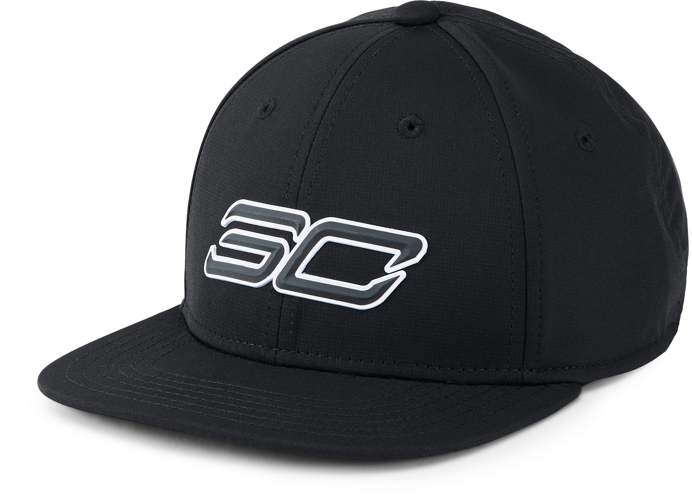 Boys' SC30 Core Snapback 2.0 Cap, Black ,