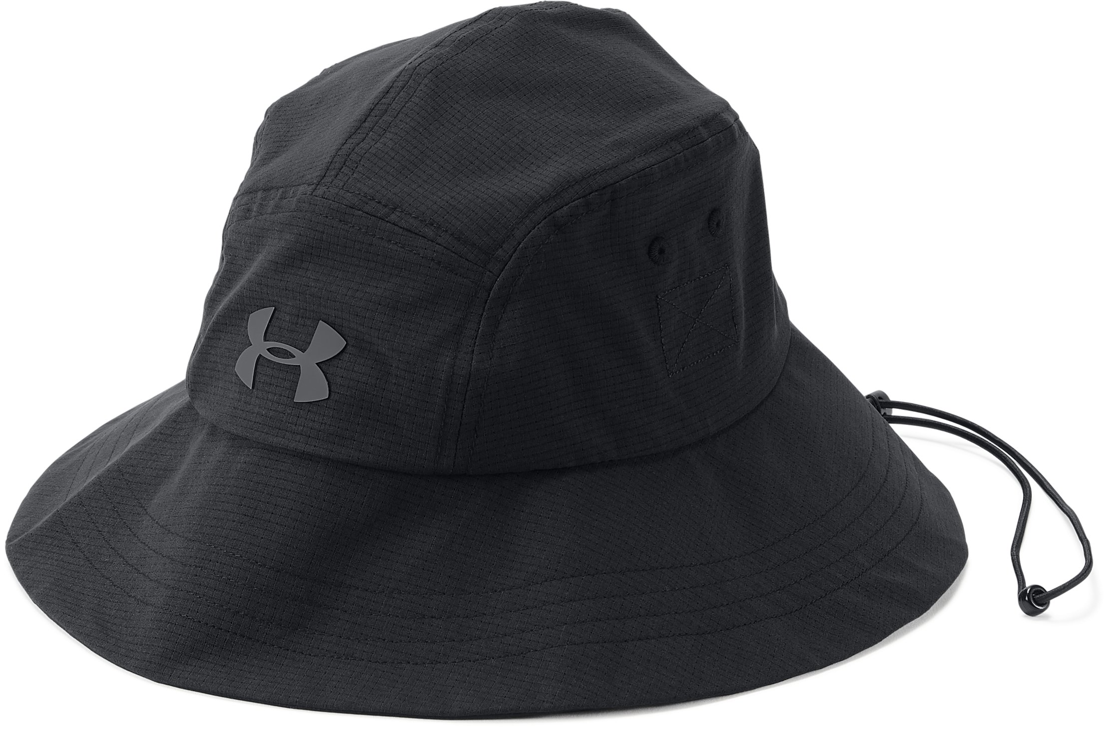 Men's UA ArmourVent™ Warrior Bucket 2.0 Hat, Black , undefined