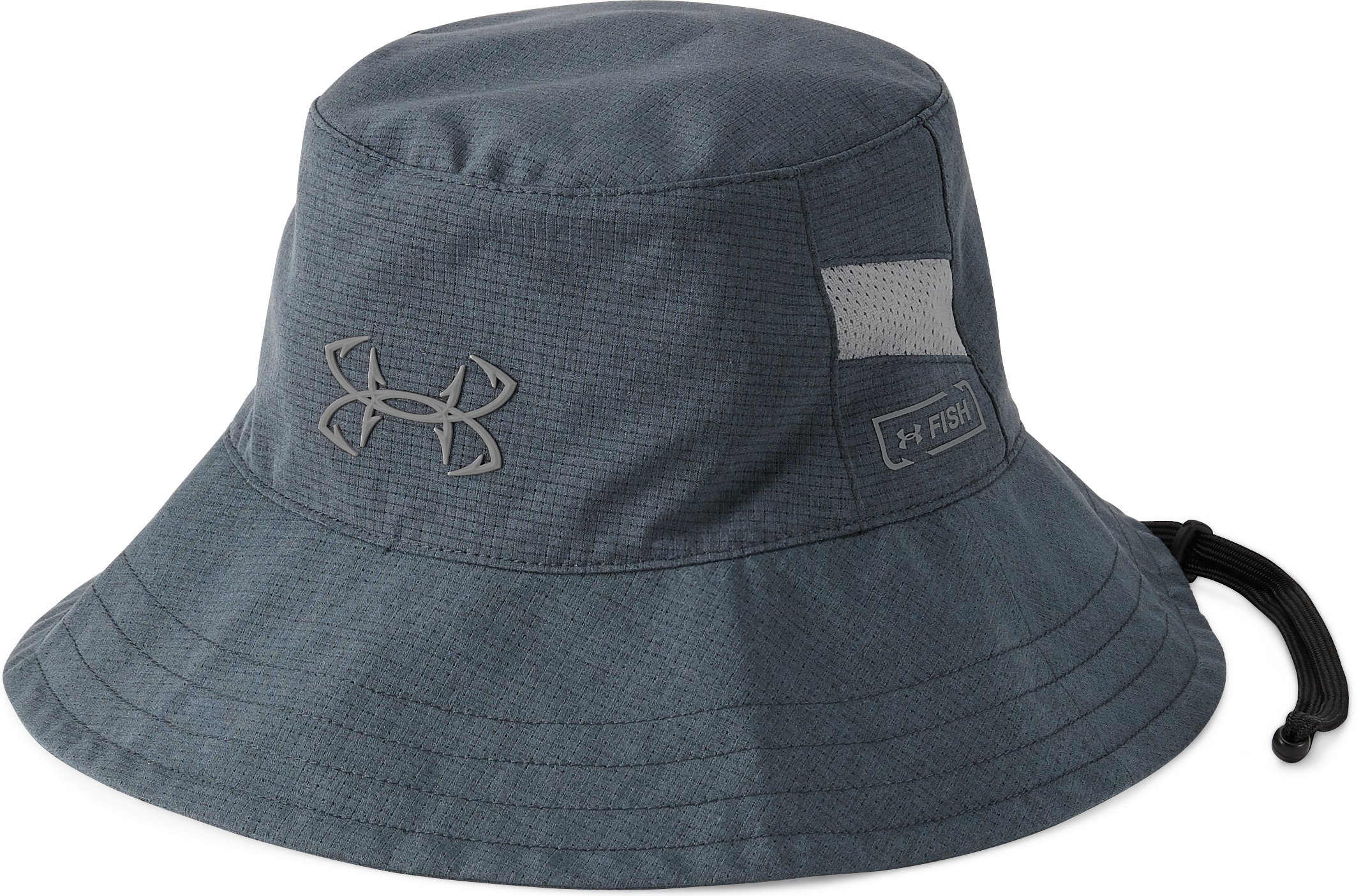 Men's UA CoolSwitch AmourVent™ Fish Bucket Hat, STEALTH GRAY