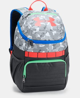 Kids' UA Large Fry Backpack  2  Colors $40