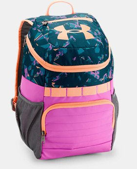Kids' UA Large Fry Backpack  1  Color Available $45