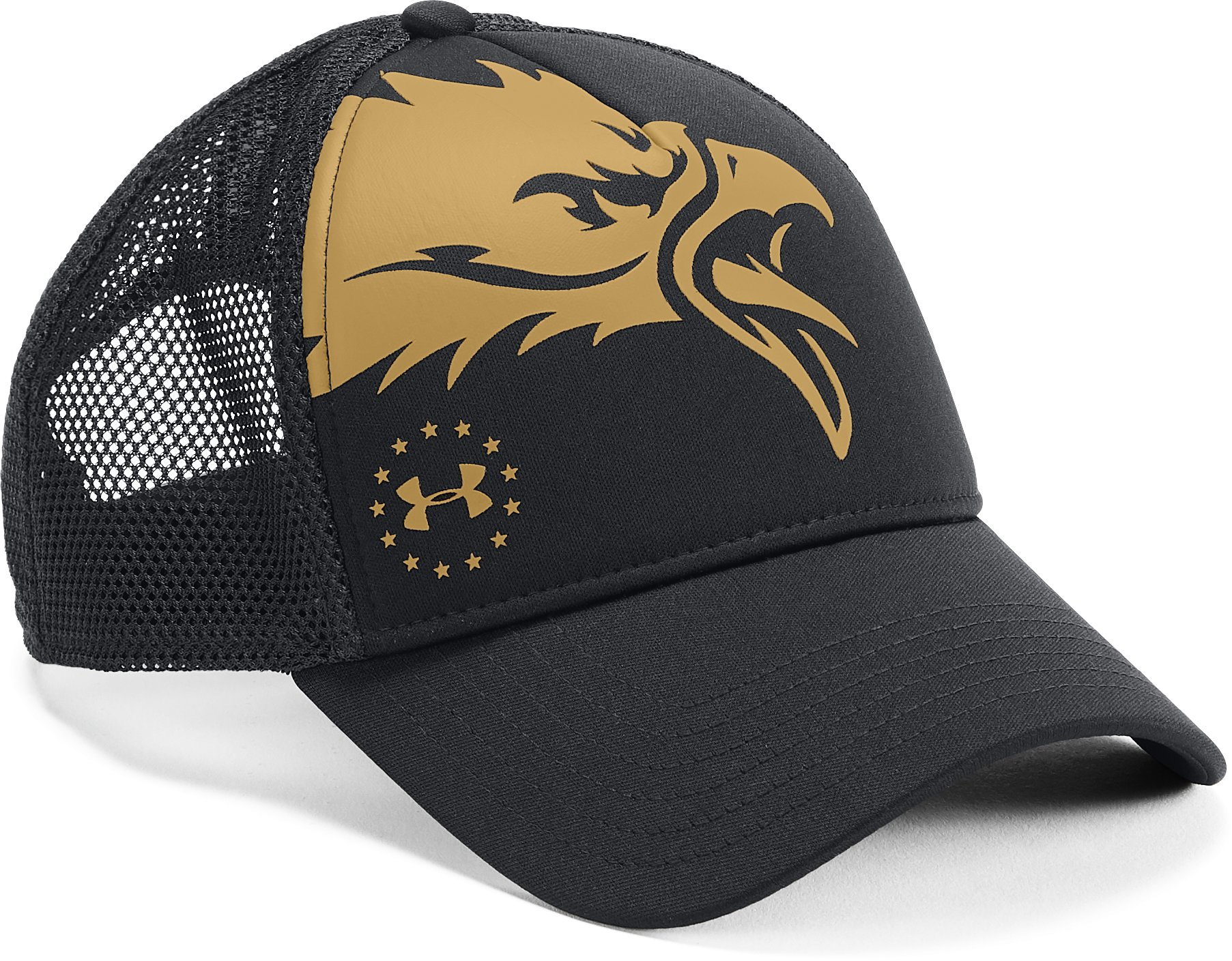 Men's UA Freedom Eagle Cap, Black , undefined