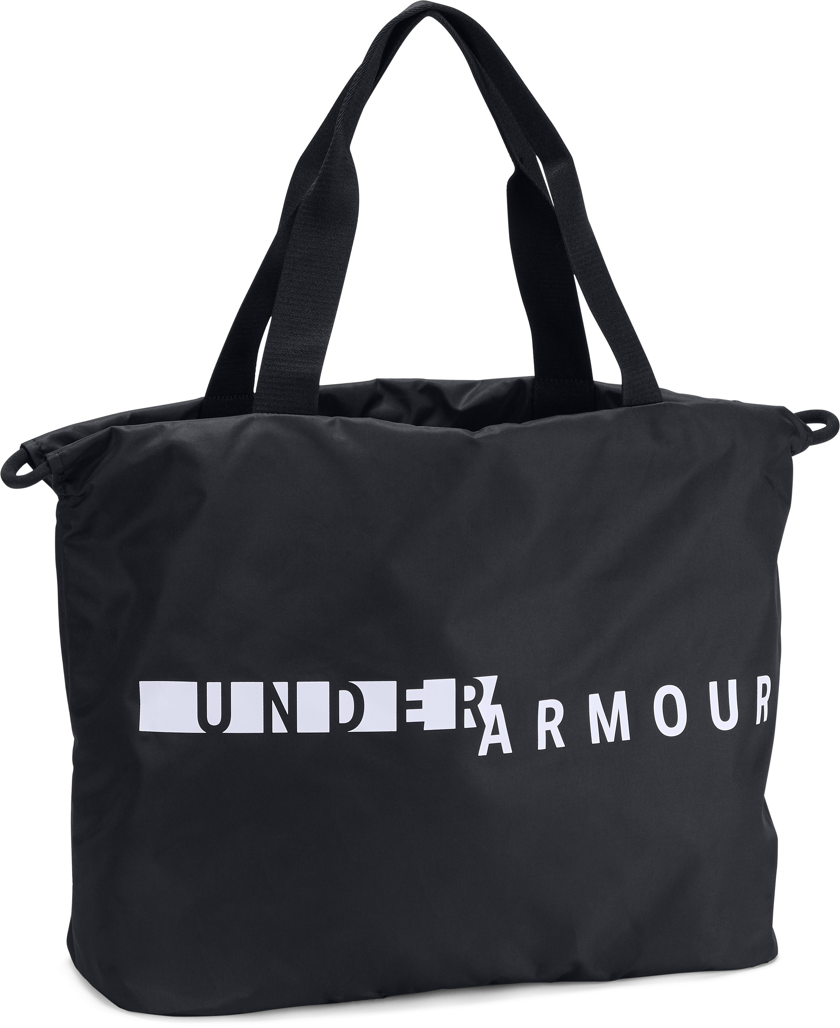 UA Favorite Graphic Tote, Black , zoomed