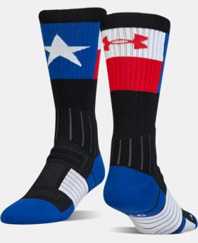 UA Unrivaled™ State Pride Crew Socks  1  Color $15