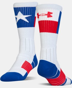 New Arrival UA Unrivaled™ State Pride Crew Socks  1 Color $14.99