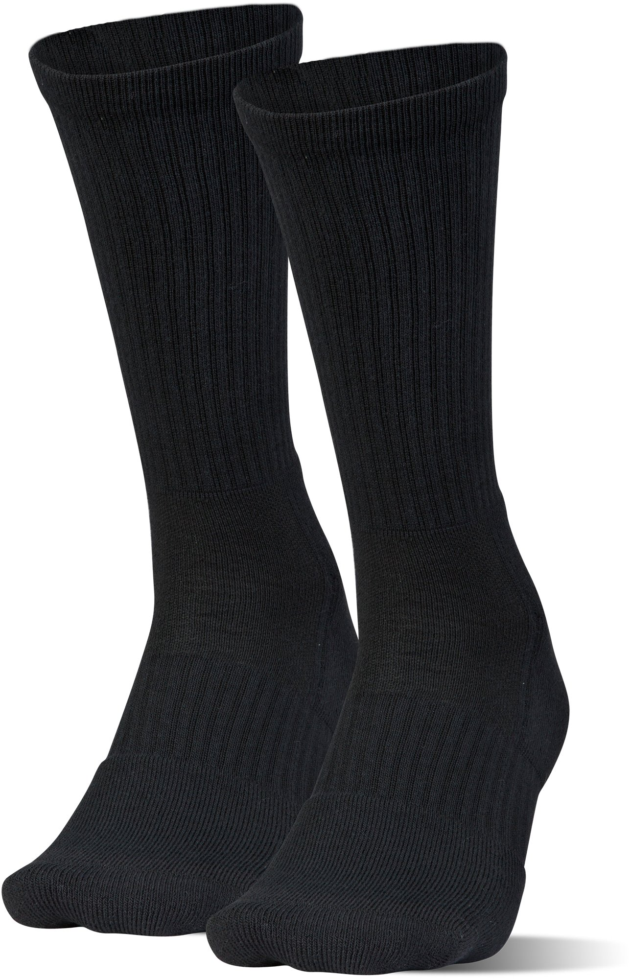 UA Train Crew Socks – 2-Pack, Black