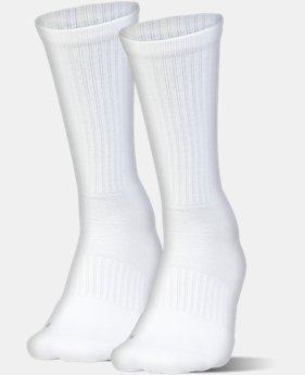 UA Train Crew Socks – 2-Pack  1 Color $15