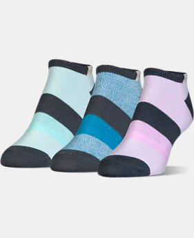 Women's UA Essential Comfort No Show Socks  3  Colors Available $14.99