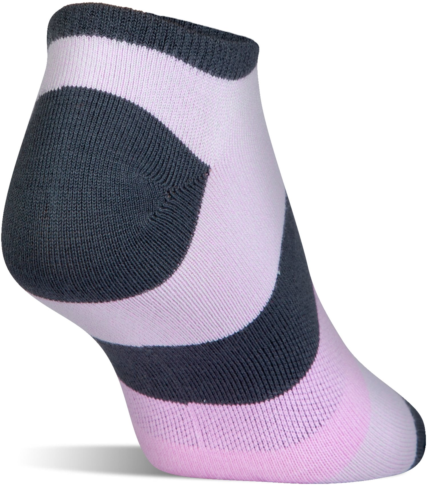 Women's UA Essential Comfort No Show Socks, STEALTH GRAY, undefined