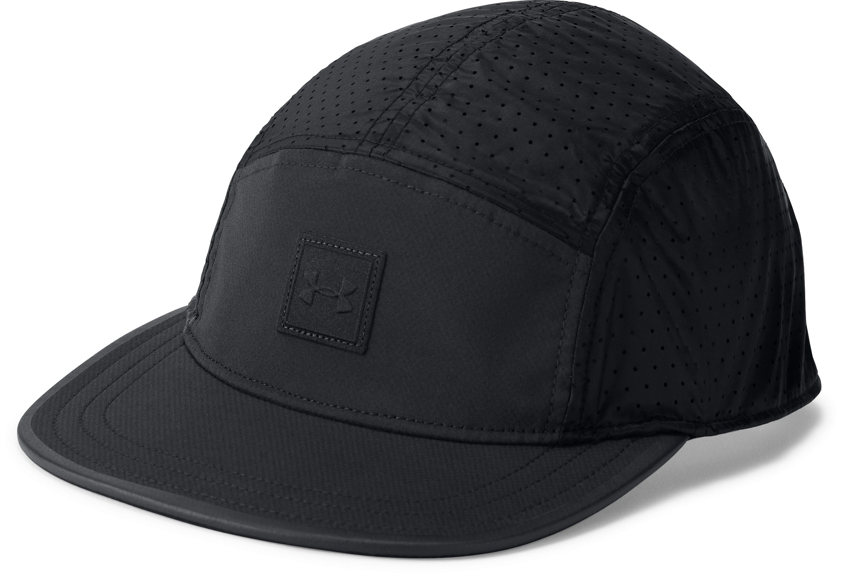 Men's UA Windbreaker Camper Cap, Black ,