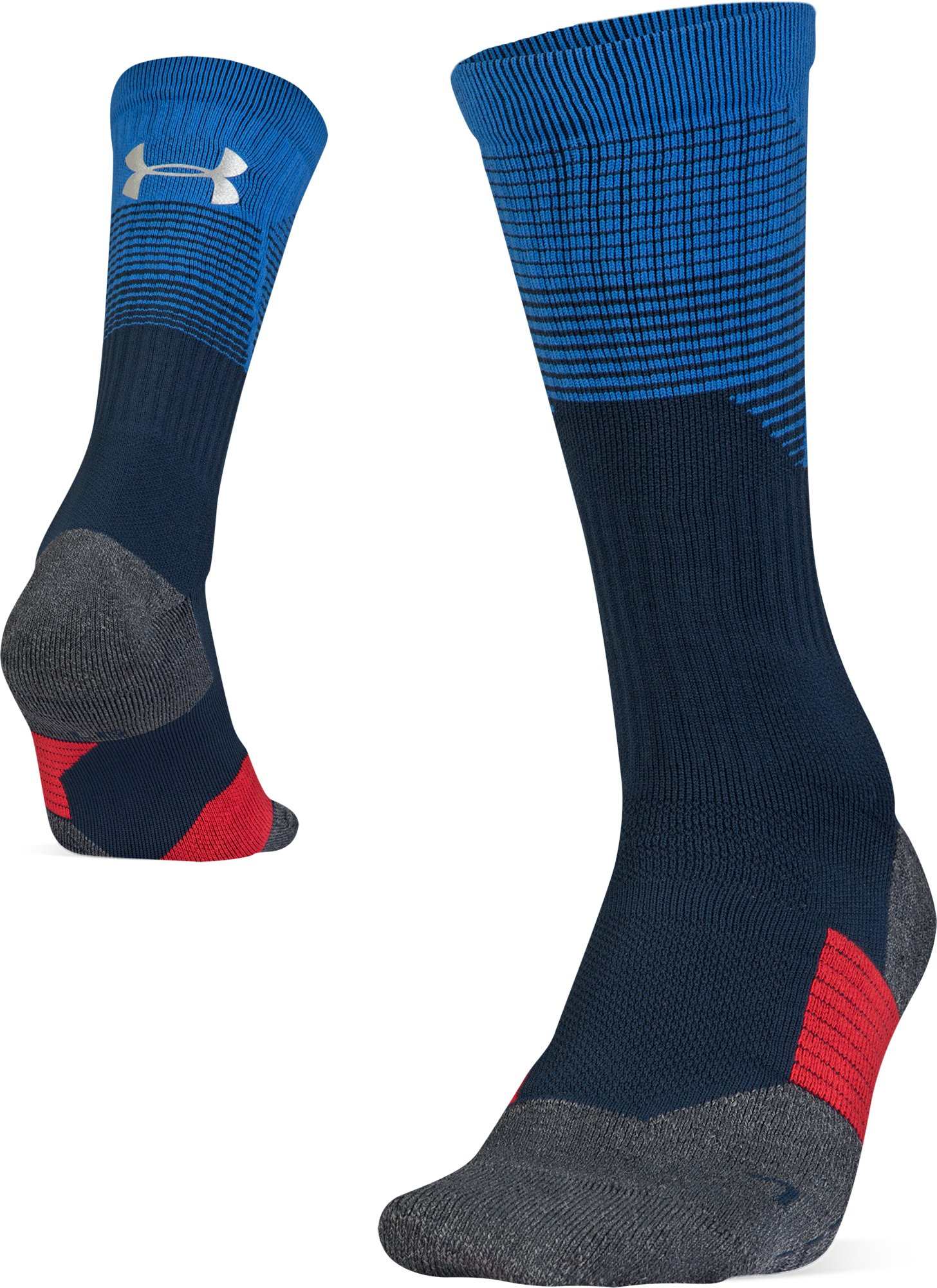 Adult UA ArmourGrip® Crew Socks, Academy, zoomed