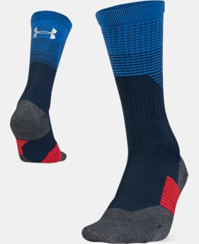 New Arrival Adult UA ArmourGrip® Crew Socks  1  Color $28