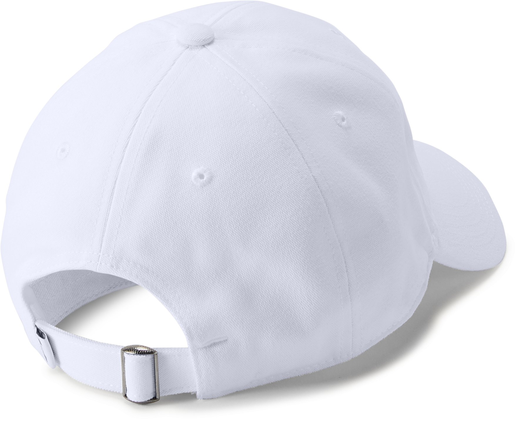 Men's UA Core Canvas Cap, White,