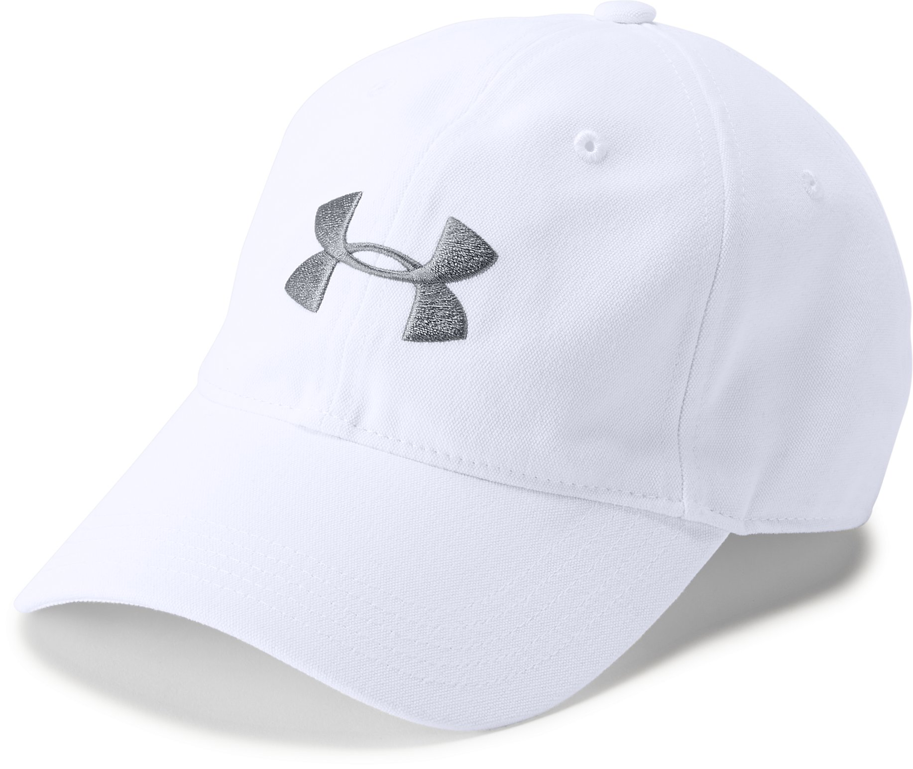 Men's UA Core Canvas Cap, White