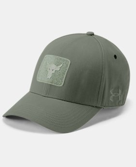 New Arrival  Men's UA x Project Rock Pro Series Cap  2  Colors Available $60