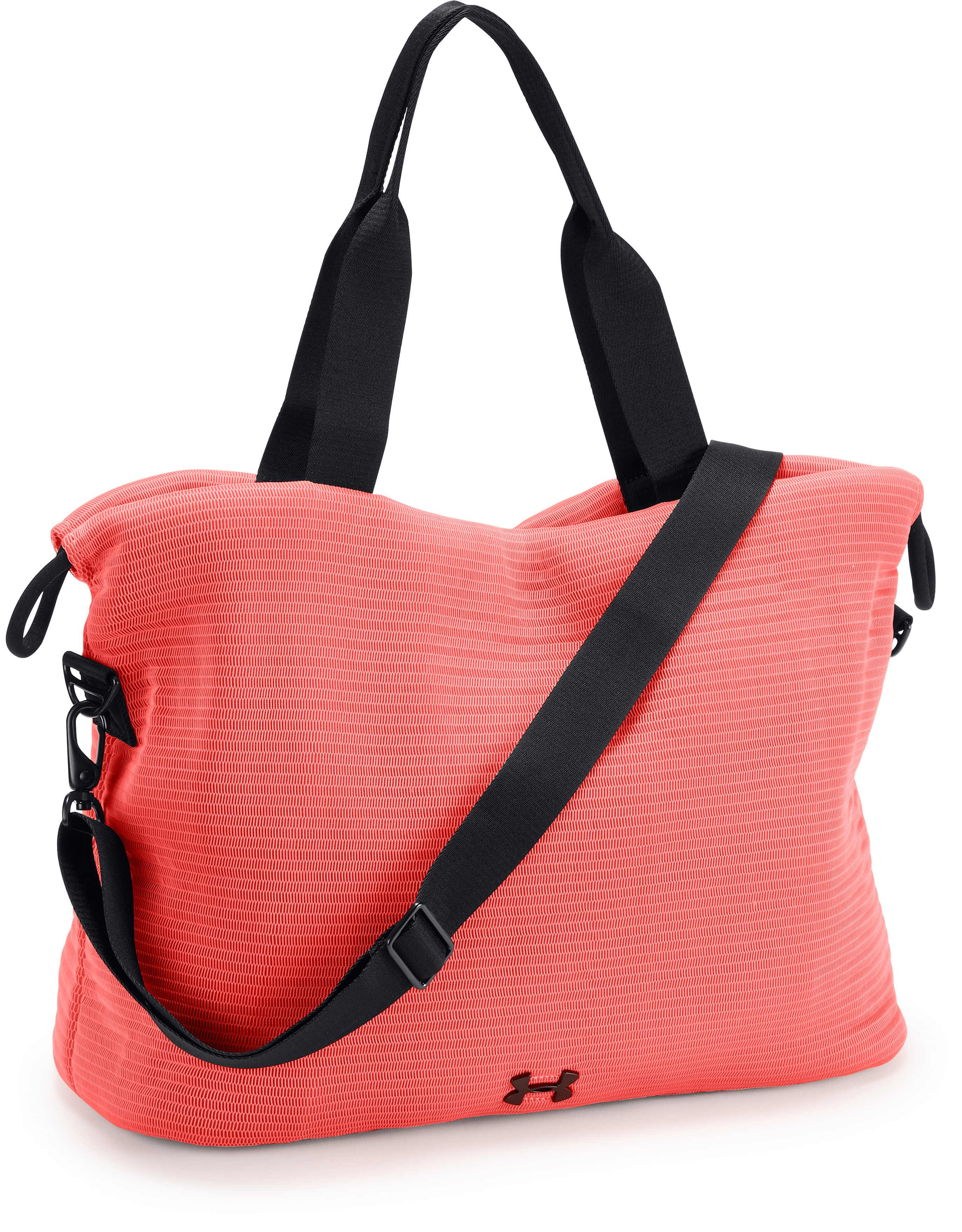 UA Cinch Mesh Tote, AFTER BURN, zoomed