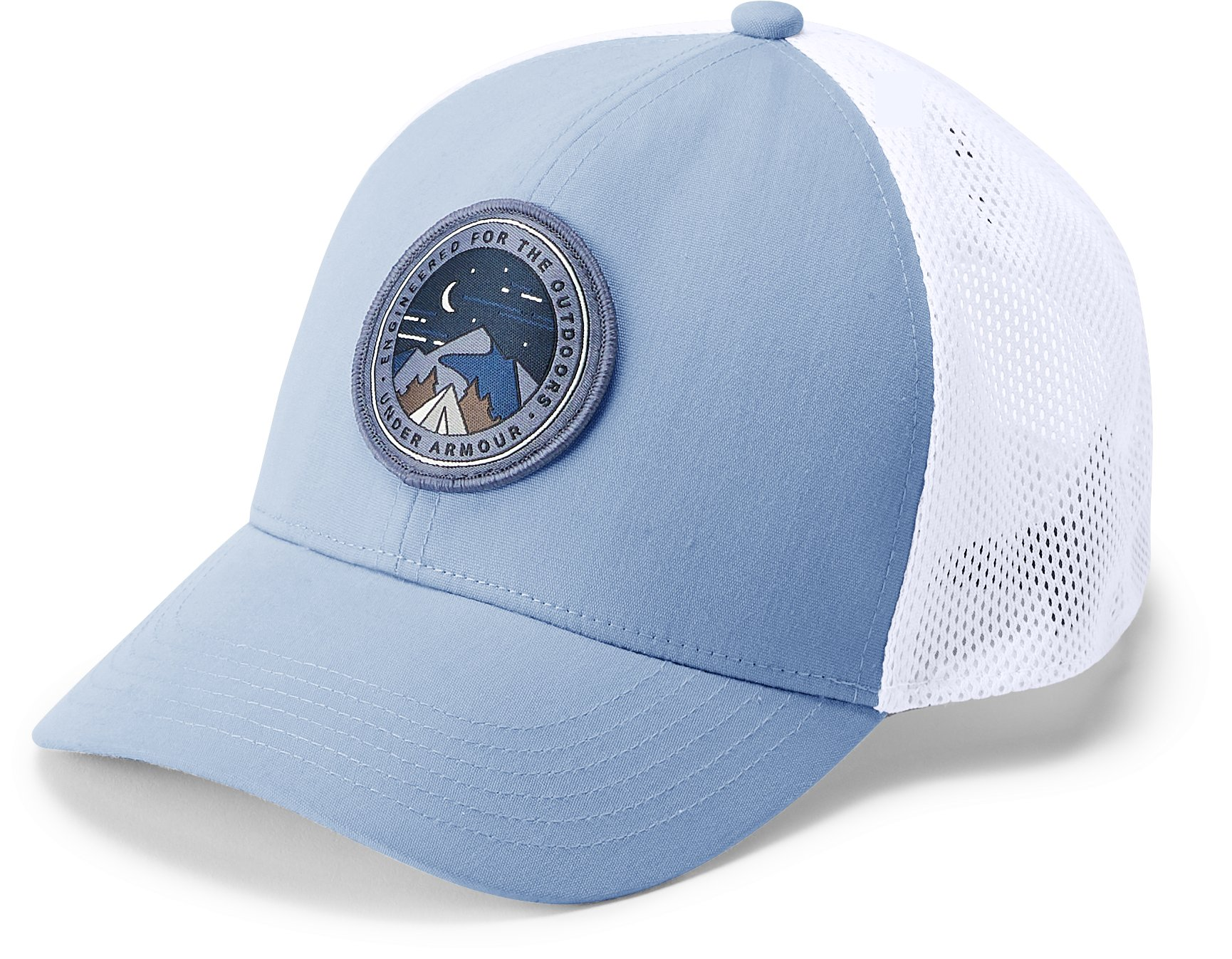 Women's UA Outdoor Patch Snapback Cap, CHAMBRAY BLUE,