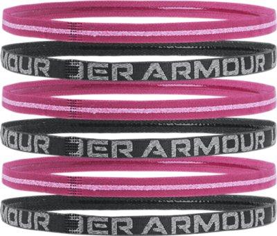 Under Armour Womens UA Mini Headbands-6 Pack Diademas para Mujer Morado Talla /única Purple