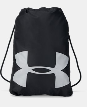 UA Ozsee Elevated Reflective Sackpack  1  Color Available $25