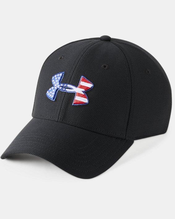 Men's UA Freedom Blitzing Cap, Black, pdpMainDesktop image number 0